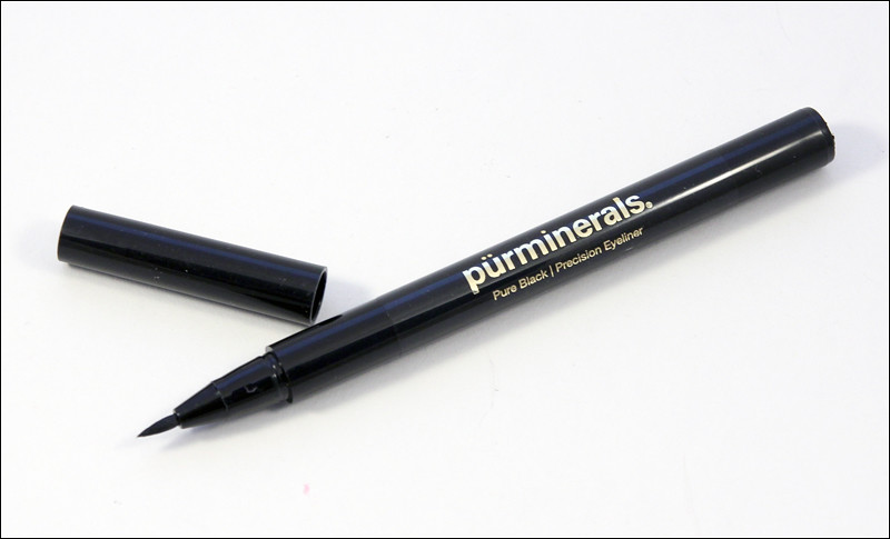 pürminerals pure black precision eyeliner