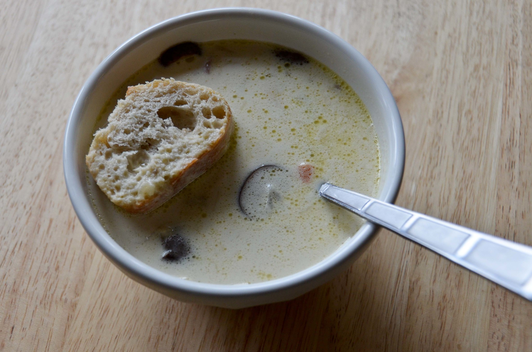 Easy Mushroom Soup (with potatoes and carrots) | Flickr - Photo ...