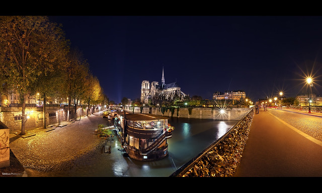 Vue sur Notre-Dame de Paris.