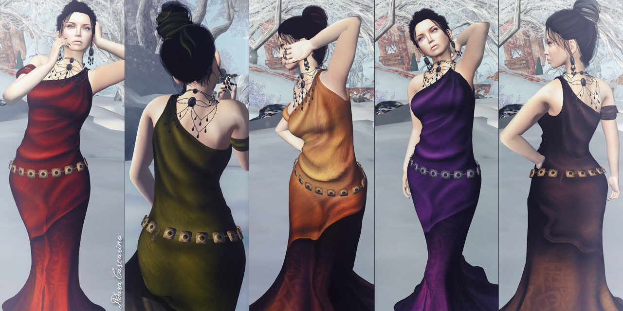 New @ Evie's Closet: Ceridwen's gown