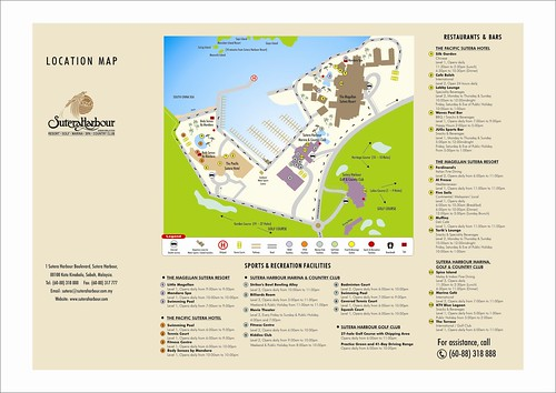 SHR Resort Map
