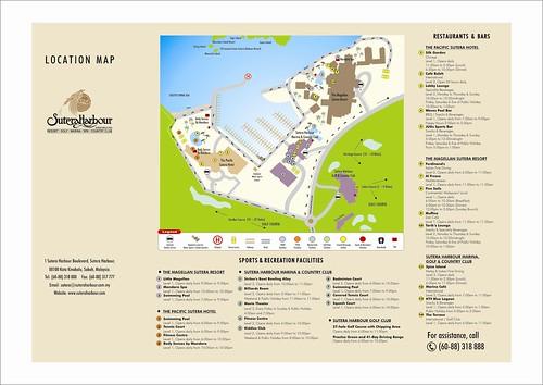SHR Resort Map