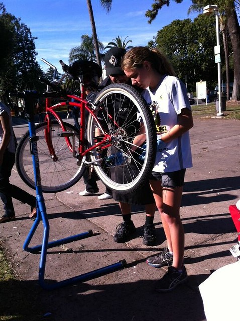 bicycle repairs