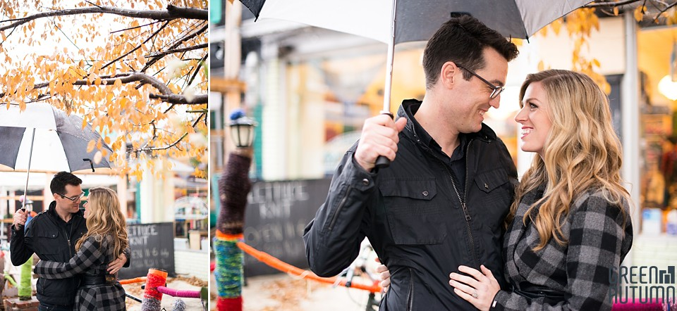 Kensington Market Cafe Toronto Engagement Session 0007
