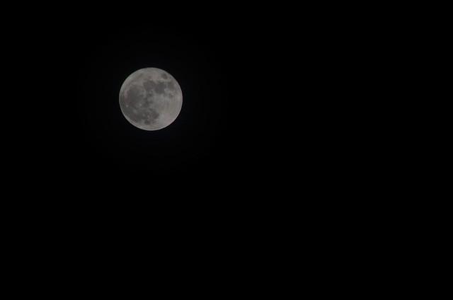 Photo:DSC_0042 - The Moon over Otzberg By otzberg