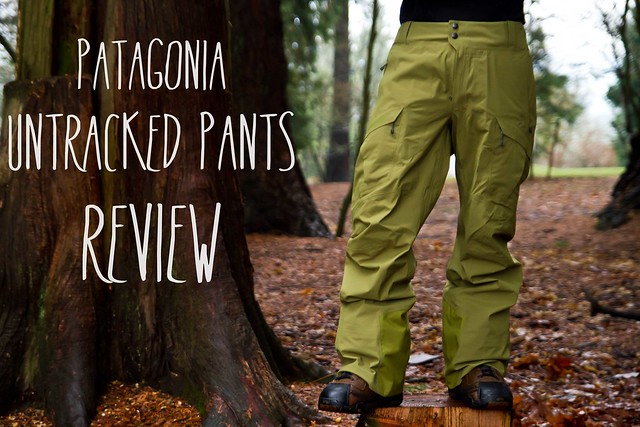 Patagonia Men S Untracked Pants Review Snowbrains