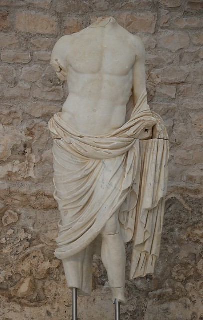 Statue of Germanicus, Archaeological museum Narona, Vid, Croatia