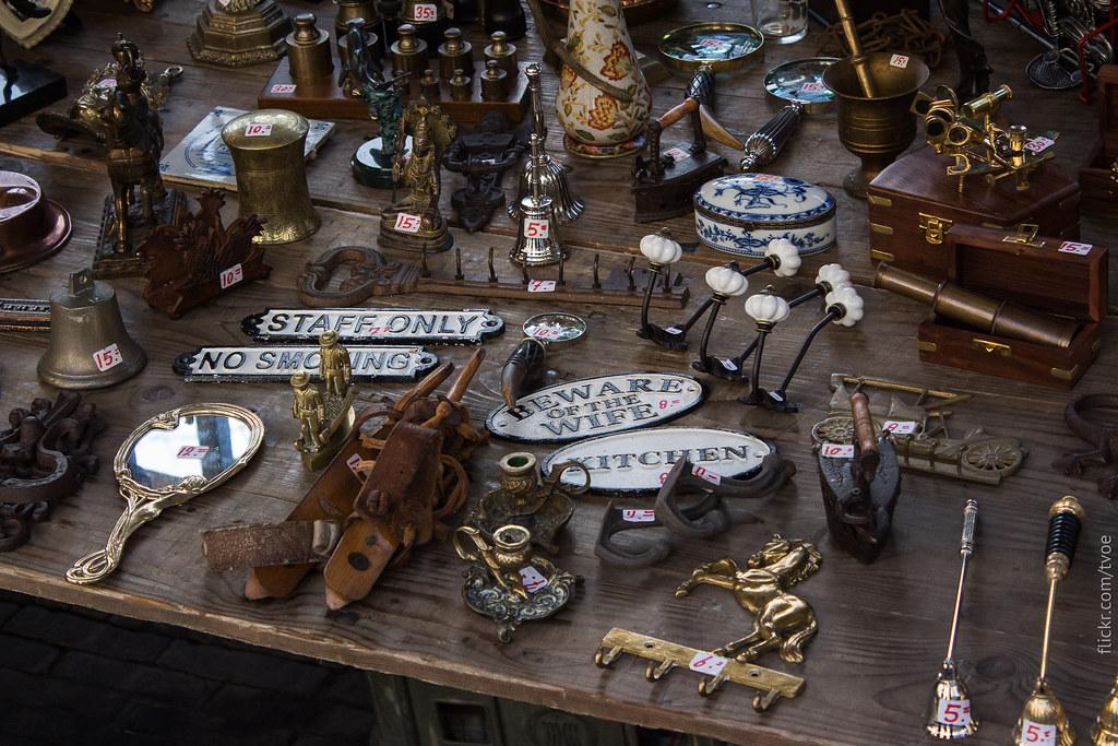 Блошиный рынок Ватерлооплейн