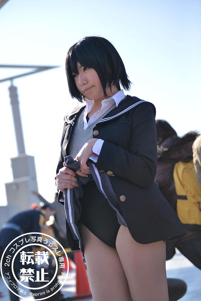 c85 cosplay 露出度 岛风 色情 死库水 露底裤