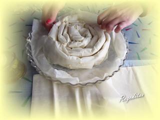 M'HANNCHA (Pastel marroquí de serpiente o Snakey Cake by Jamie Oliver)