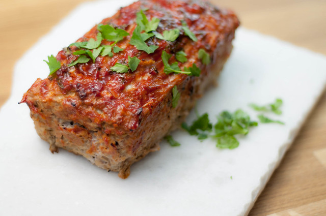 turkey apple & cilantro meatloaf