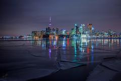 Night Fall on the Pier