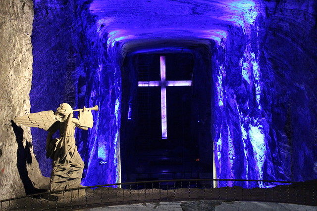 Salt cathedral, Zipaquirá, Colombia
