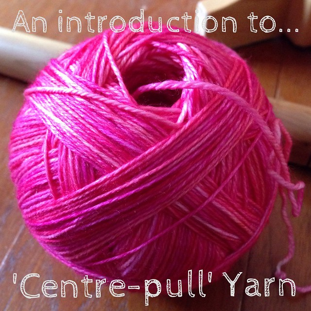 Centre-pull yarn ball