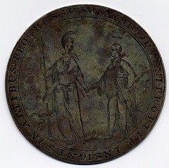 Medal of the Literary Society of King's College in New York - reverse