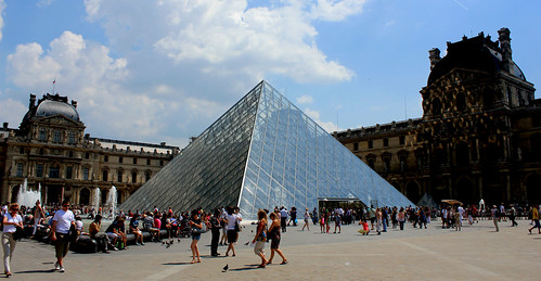 Pyramids of Louvre