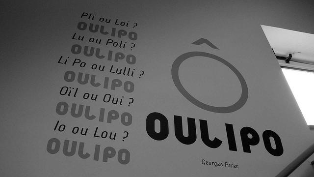 OuLiPo - Escalier - 2010/2011