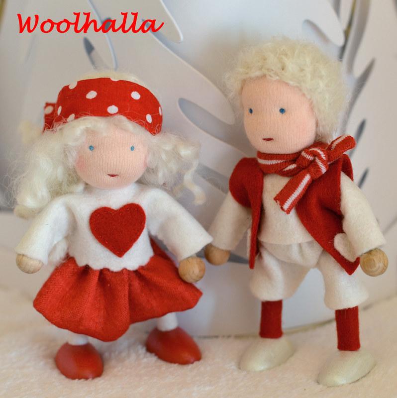 SweetHeart Dollhouse Dolls