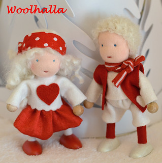 SweetHeart Dollhouse Dolls