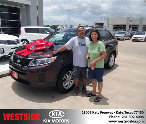Happy Birthday to Blesildar Estrella from Gilbert Guzman  and everyone at Westside Kia! #BDay by Westside KIA