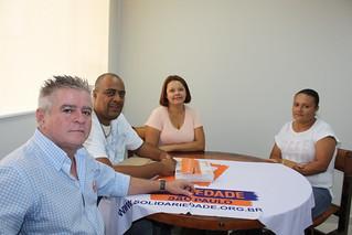 Sandoval Fernandes, Ewerton Vítor (Gigante), Ester Borges e Danielle dos Santos