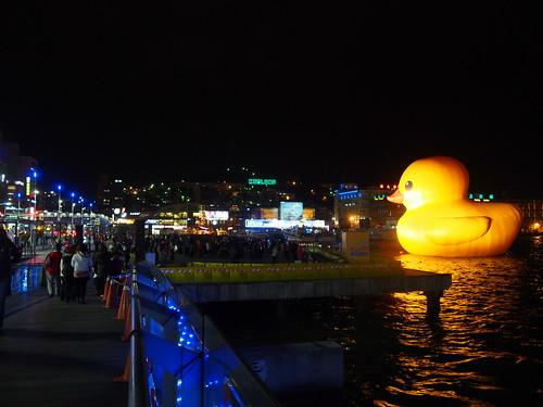 アヒルちゃんin基隆海洋廣場