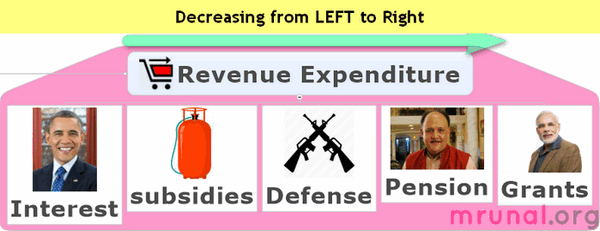 Revenue Expenditure descending order
