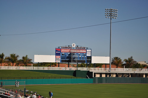 Inside Hammond Stadium