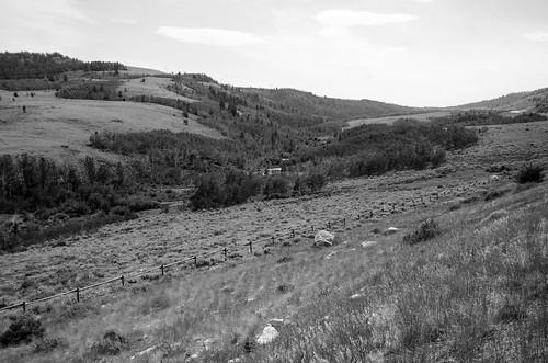 B&W - Near Miners Delight Wyoming
