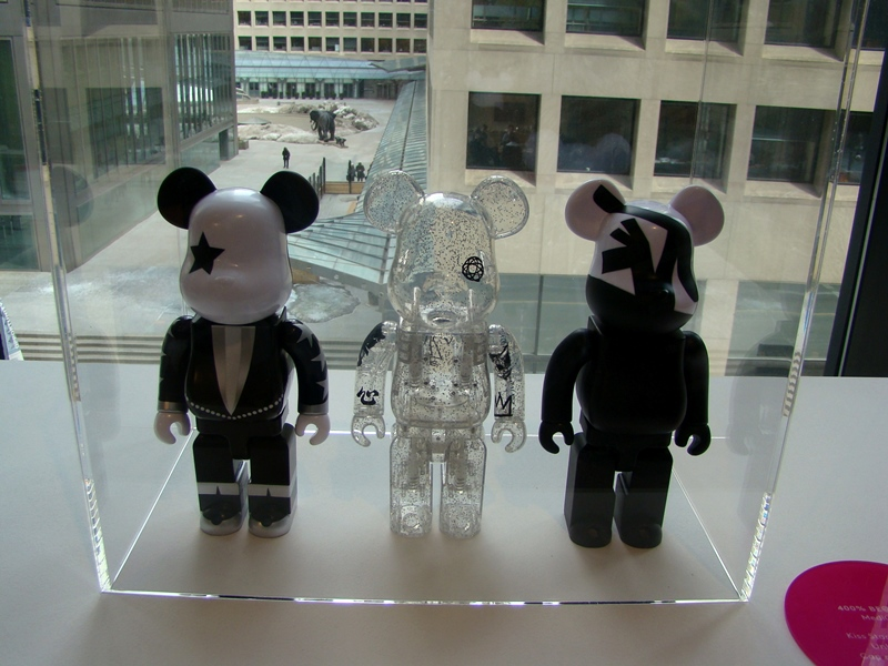 400% Be@rbricks Kiss Starchild