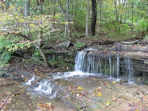 summer nature waterfall kentucky clear