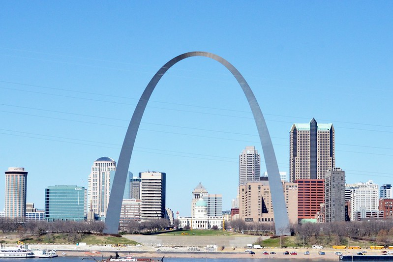 Gateway arch st louis missouri architecture revived for St louis architecture