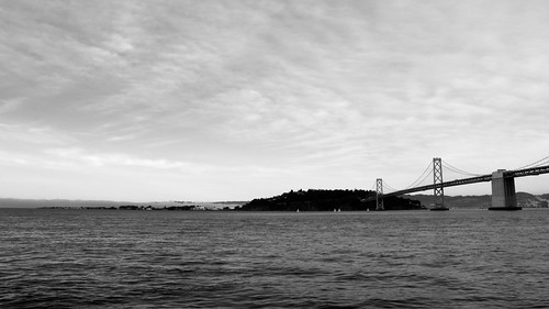 Bay bridge to Yerba Buena Island