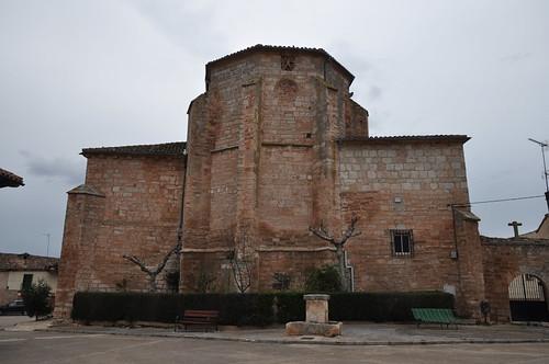 Presencio (Burgos). Iglesia de San Andrés. Cabecera