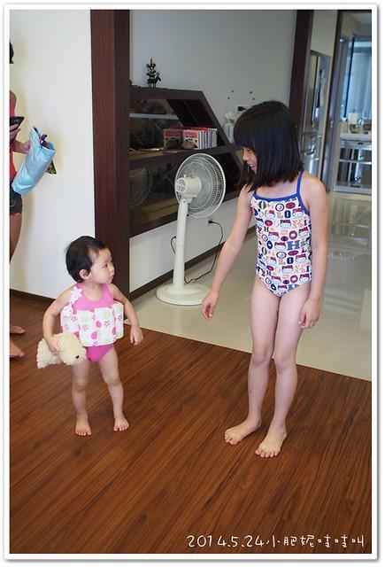 【小貝貝日記】第一次游泳,先從不怕水開始~