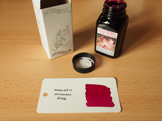 Noodler's Ottoman Rose - Ink Review