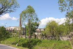 Paper mill complex , Łomnica village 20.05.2014