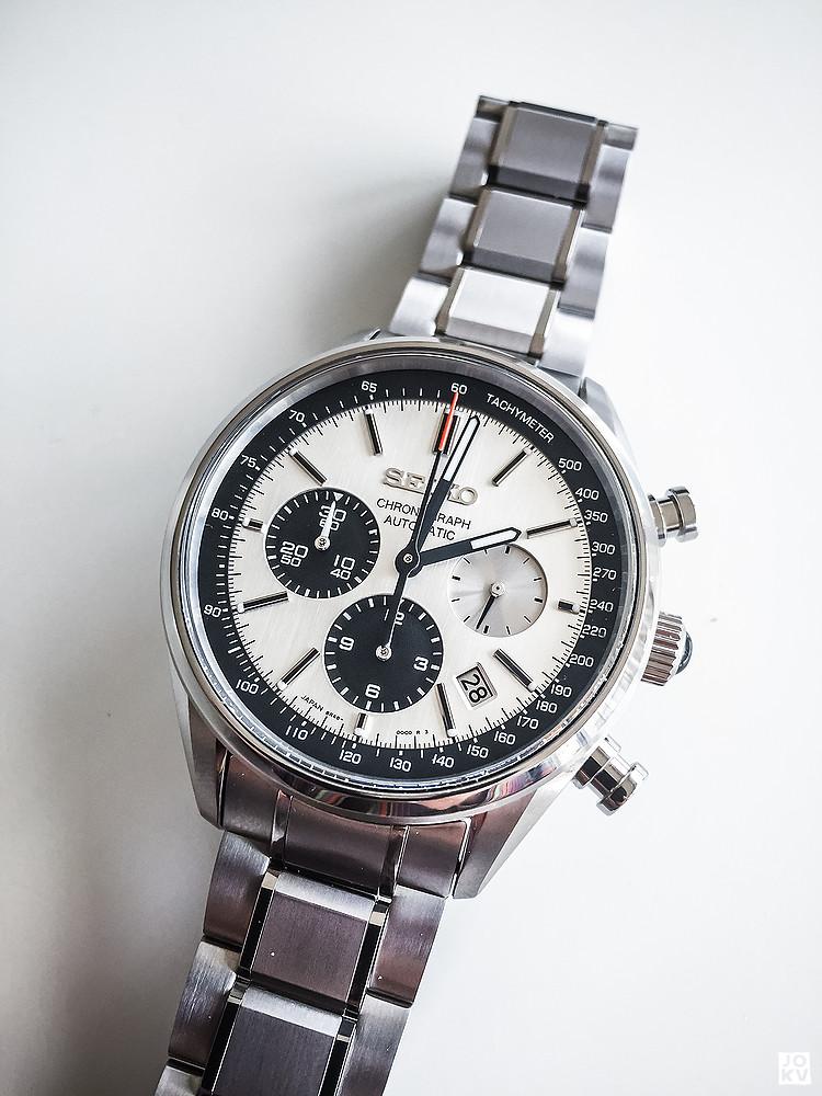 [Revue] Seiko Automatic Chronograph SDGZ013 - Panda 18738792449_811a6ff13b_b