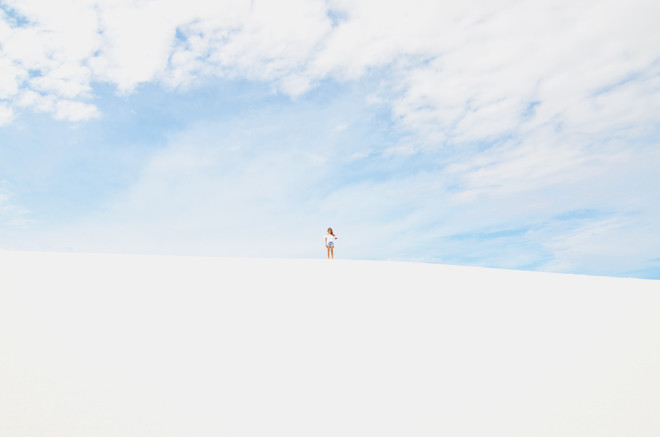 it's 10 benny- white sands national monument