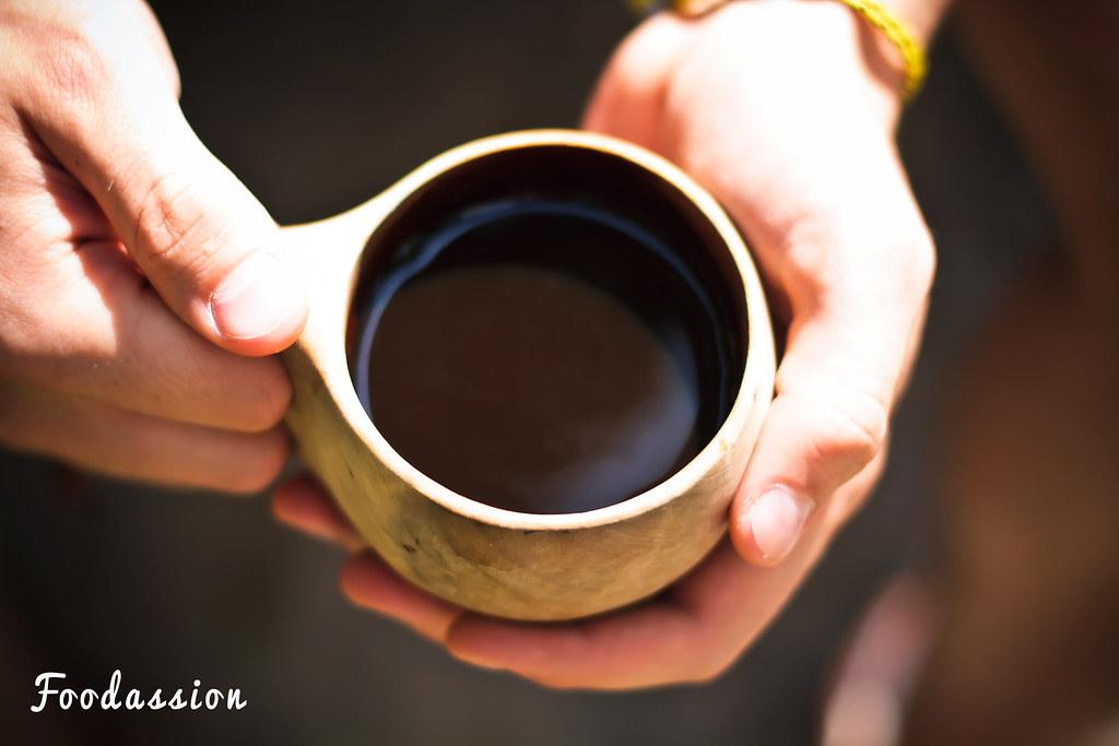 Kahvia kuksassa
