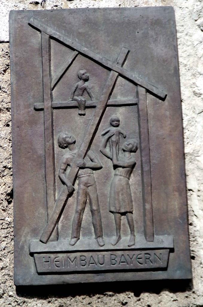 Munich: St. Paulskirche and Bayern Heimbau Gesellschaft