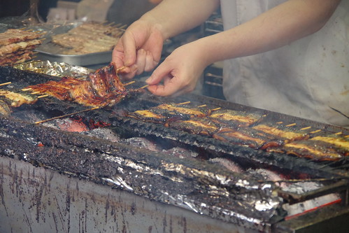 grilling unagi Narita Gionsai 2015 PENTAX K-S2 25