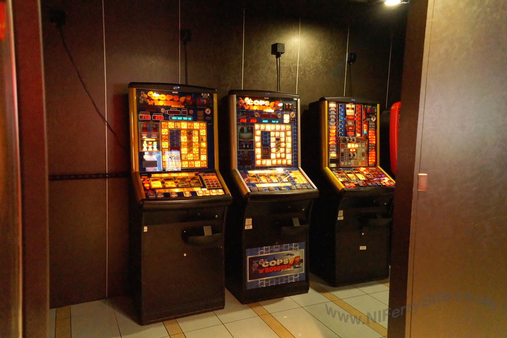 Stena Mersey onboard - gaming machines