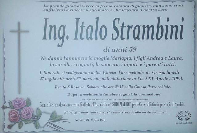 Ing. Italo Strambini
