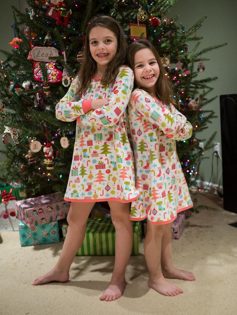 New matching pajamas