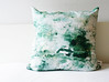 Marble Pillow cover | Emerald Gold by LottaLorier