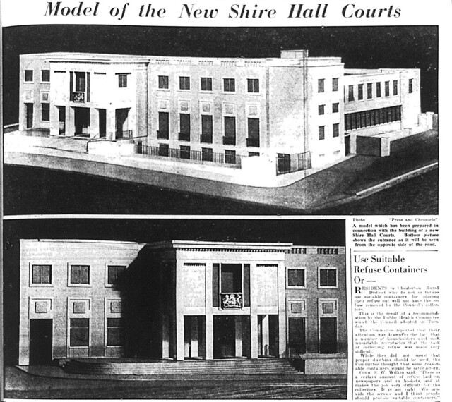 New Shire Hall Courts Models