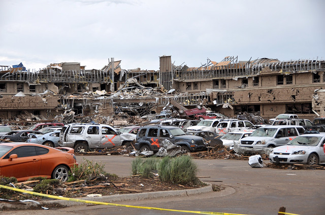 8790359778 95989572d9 z Photos Showing the Devastation of the Oklahoma City Tornado Aftermath