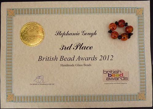 British Bead Awards 2012
