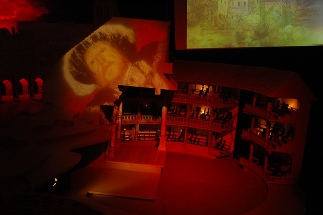 Globe Theatre Model